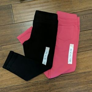 NWT Lot of 2 girls jeggings